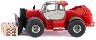 """Телескопичен товарач - Manitou MHT 10230 - Метална играчка от серията """"Super: Cranes"""" - количка"""