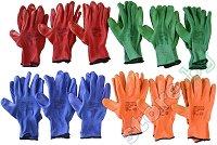 Работни ръкавици - Four colors - Комплект от 12 броя