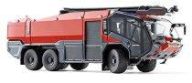 """Противопожарна кола - Rosenbauer - Метална играчка от серията """"Super: Emergency rescue"""" -"""