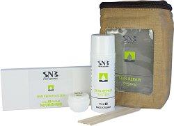 SNB Skin Repair System Nourishing - Комплект за възстановяване на кожата на ръцете и стъпалата с подхранващ комплекс - крем