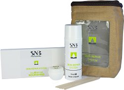 SNB Skin Repair System Nourishing - Комплект за възстановяване на кожата на ръцете и стъпалата с подхранващ комплекс - душ гел