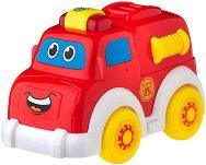 """Пожарна кола - Играчка с музикален и светлинен ефект от серията """"Jerry's Class"""" - играчка"""