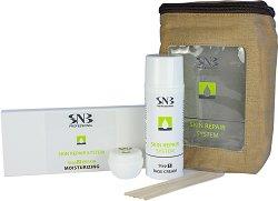 SNB Skin Repair System Moisturizing - Комплект за възстановяване на кожата на ръцете и стъпалата с хидратиращ комплекс - шампоан