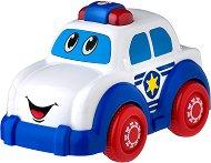 """Полицейска кола - Играчка с музикален и светлинен ефект от серията """"Jerry's Class"""" - творчески комплект"""