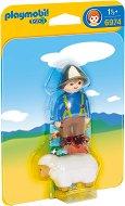 """Овчар с овца - Мини фигури от серията """"Playmobil: 1.2.3"""" -"""