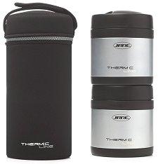 Термоконтейнери за храна - Thermic Line - Комплект от 2 броя x 500 ml и термобокс -