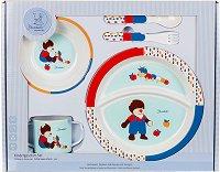 Детски комплект за хранене - Bobby & Rudi - За бебета над 6 месеца - продукт