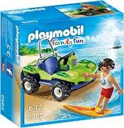 """Сърфист с плажно АТВ - Детски конструктор от серията """"Family Fun"""" -"""