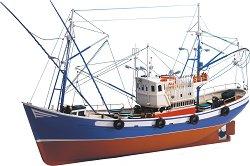 Риболовна лодка - Carmen II - Сглобяем модел от дърво - макет