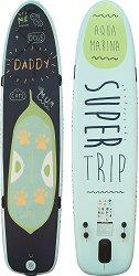 Надуваем SUP борд - Super Trip - Комплект с гребла