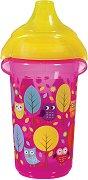 Неразливаща се чаша с твърд накрайник - 266 ml - За бебета над 9 месеца от серията  Click Lock -