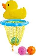 Кош с 3 топки - Патенце - Бебешка играчка за баня -