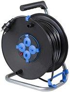 Макара за навиване на кабел с 25 m кабел и 4 гнезда