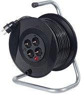 Макара за навиване на кабел с 40 m кабел и 4 гнезда