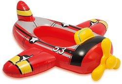 Надуваема детска лодка - Самолет - играчка