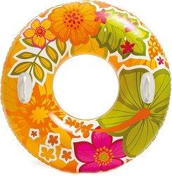 Надуваем пояс с дръжки - Цветя - надуваем пояс