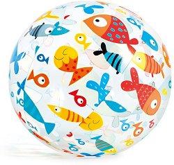 Надуваема топка - Морски животни - играчка