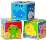 Кубчета - Животни - Комплект от 3 броя - фигура
