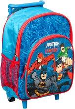 Раница за детска градина с колелца - Лигата на справедливостта -