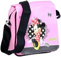 Чанта за рамо - Мини Маус - детска бутилка