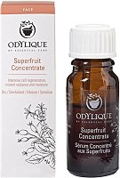 Odylique Essential Care Superfruit Concentrate - Био подмладяващ и освежаващ серум-концентрат за лице - крем