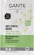 Sante Anti-Stress Mask - Анти-стрес маска за лице с био масло от бадем - 2 x 4 ml - маска