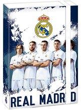 Кутия с ластик - ФК Реал Мадрид - Размери 23 x 34  cm