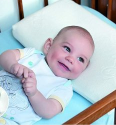 Бебешка възглавница - Memo - Размери 48 x 26 cm - залъгалка