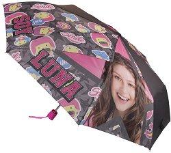 Детски чадър - Soy Luna - творчески комплект