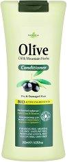 HerbOlive Conditioner Olive Oil & Mounthain Herbs - Балсам за суха и увредена коса с маслина и планински билки  -