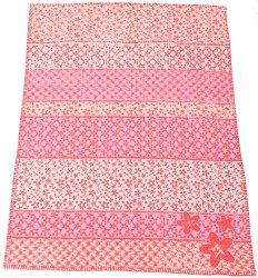 """Бебешко одеяло - Цветя - Размери 75 x 100 cm от серия """"Lena"""" -"""