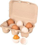 Яйца - Комплект от 6 броя - играчка