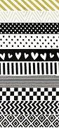 Декоративно тиксо - Washi tape - Комплект от 10 броя