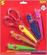 Ножица за декоративно рязане 5 в 1 - Комплект с 5 остриета - продукт