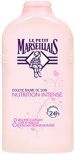 Le Petit Marseillais Nutrition Intense Douche Baume - Подхранващ душ балсам с арган, пчелен восък и розово масло -