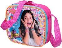 Комплект бутилка и кутия за храна в чанта - Soy Luna -