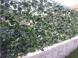 Покривало за ограда с бръшлян