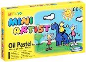 Маслени пастели - Mini artist - Комплект от 12, 16 или 25 цвята