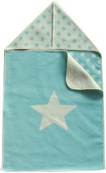 """Бебешко одеяло за изписване - Звезди - Размери 45 x 76 cm от серия """"Juwel"""" -"""