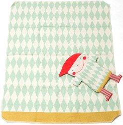 """Бебешко одеяло с мека играчка - Джудже - Размери 70 x 90 cm от серия """"Juwel"""" -"""