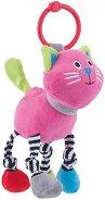 Мека дрънкалка - Котенце - Играчка за количка или легло -