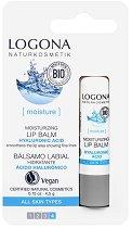 Logona Lip Balm Hyaluronsaure - Балсам за устни с хиалуронова киселина и витамин F - маска
