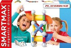 Playground - Магнитен конструктор - играчка