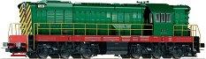 Дизелов локомотив - T669 Privatbahn - ЖП модел -