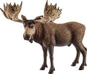 """Лос - мъжки - Фигура от серията """"Животни от дивия свят"""" - фигура"""