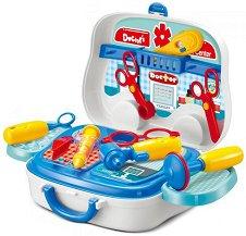 Лекарско куфарче - Детски комплект с аксесоари - играчка