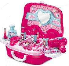 Козметично куфарче - Детски комплект с аксесоари - играчка