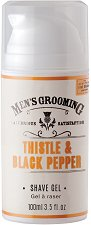 Scottish Fine Soaps Men's Grooming Thistle & Black Pepper Shave Gel - пяна