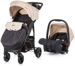 Бебешка количка 2 в 1 - Passo - С 4 колела -
