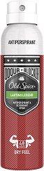 Old Spice Lasting Legend Anti-Perspirant & Deodorant Spray - Спрей дезодорант за мъже против изпотяване - шампоан